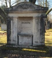 Grab von Albert Rosenfelder