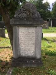 Grab von Max Holzinger auf dem Neuen Jüdischen Friedhof in Fürth