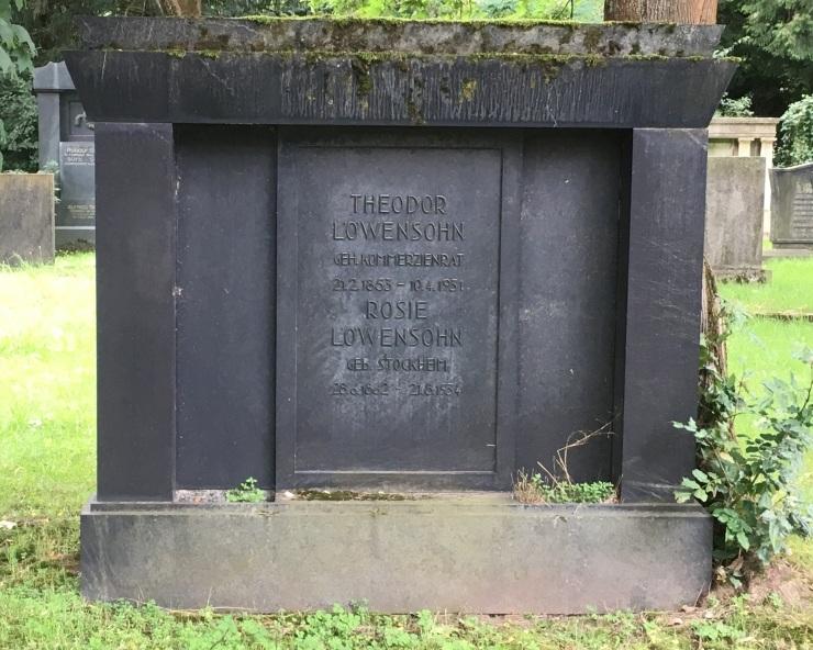 Grab Theodor & Rosie Löwensohn