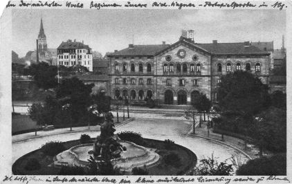 Hauptbahnhof 1905