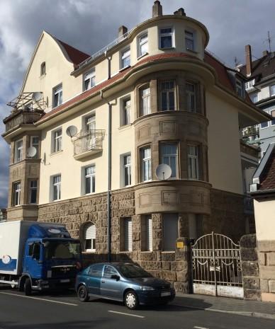 Wohnhaus der Familie in der Hornschuchpromende 44