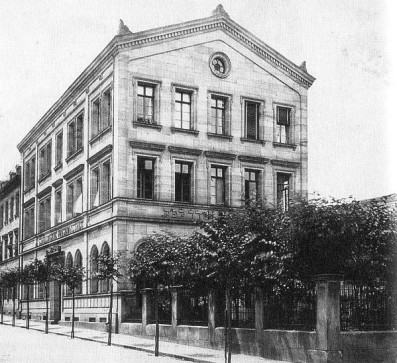 Israelitisches Waisenhaus 1884