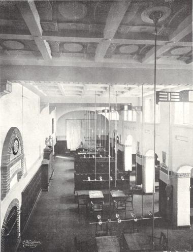 Lesesaal des Berolzheimerianums 1907