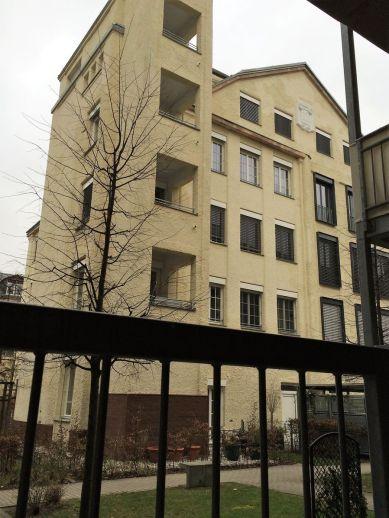 1914 zusätzlich errichtetes Fabrikgebäude in der Maistraße 13