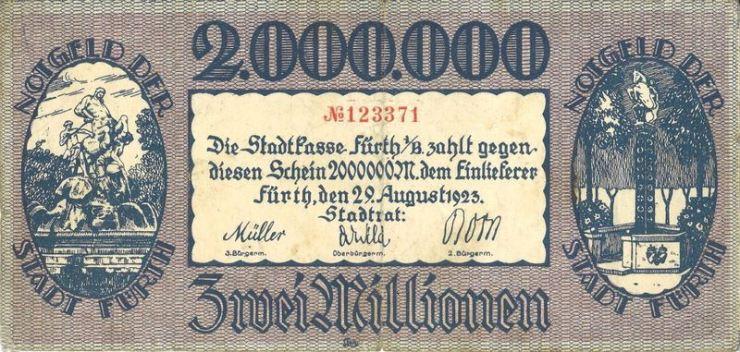 Notgeldschein 1923