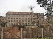 Fabrikgebäude der Bilderbücherfabrik Löwensohn in der heutigen Otto-Seeling-Promenade 28 & 30
