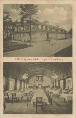 Postkarte Lager Hammelburg