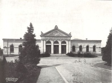 Trauerhalle Neuer Jüdischer Friedhof 1907