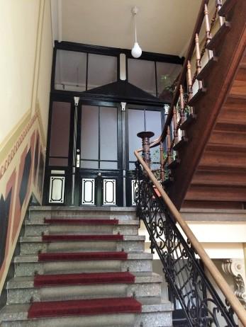 Zugangstür zur Wohnung von Kommerzienrat Albert Rosenfelder