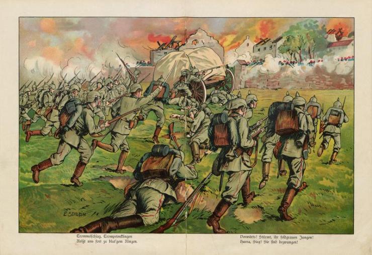 Unsere Feldgrauen. Deutsche und Österreicher. Soldatenbilder aus dem großen Krieg (11)
