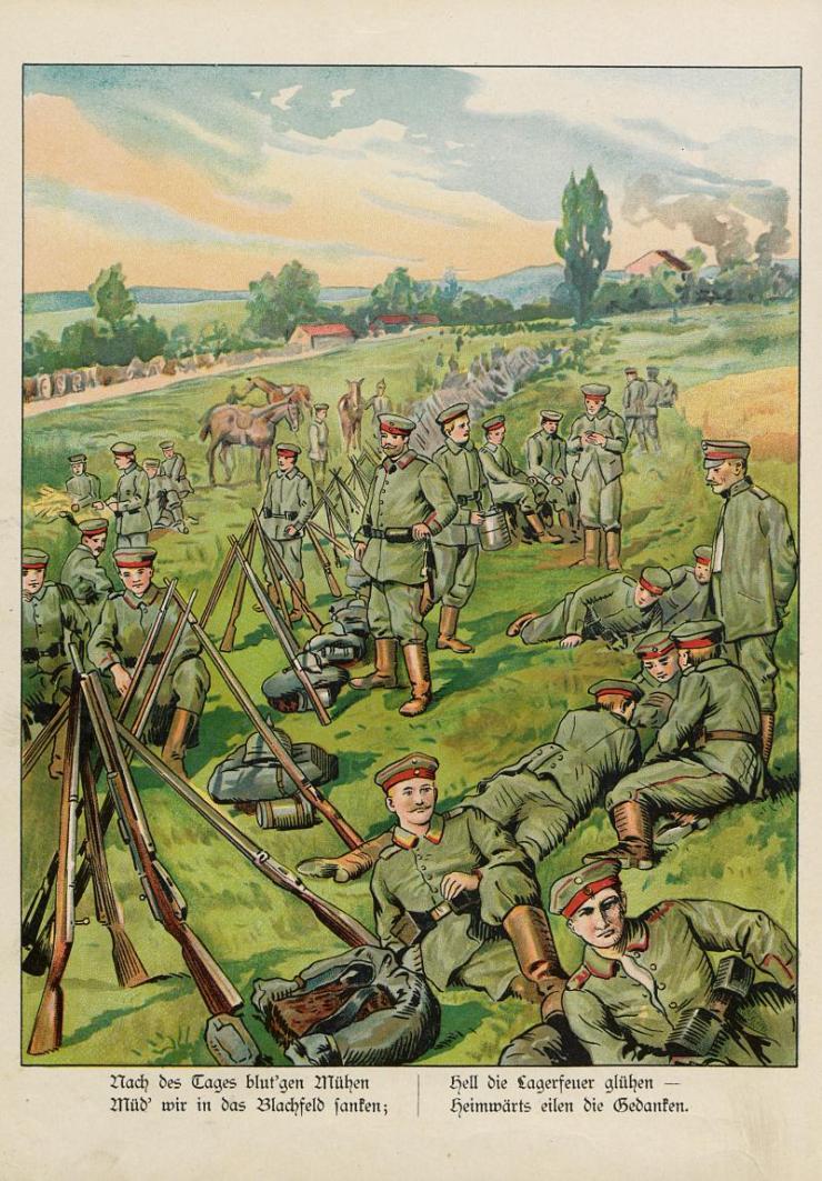 Unsere Feldgrauen. Deutsche und Österreicher. Soldatenbilder aus dem großen Krieg (14)