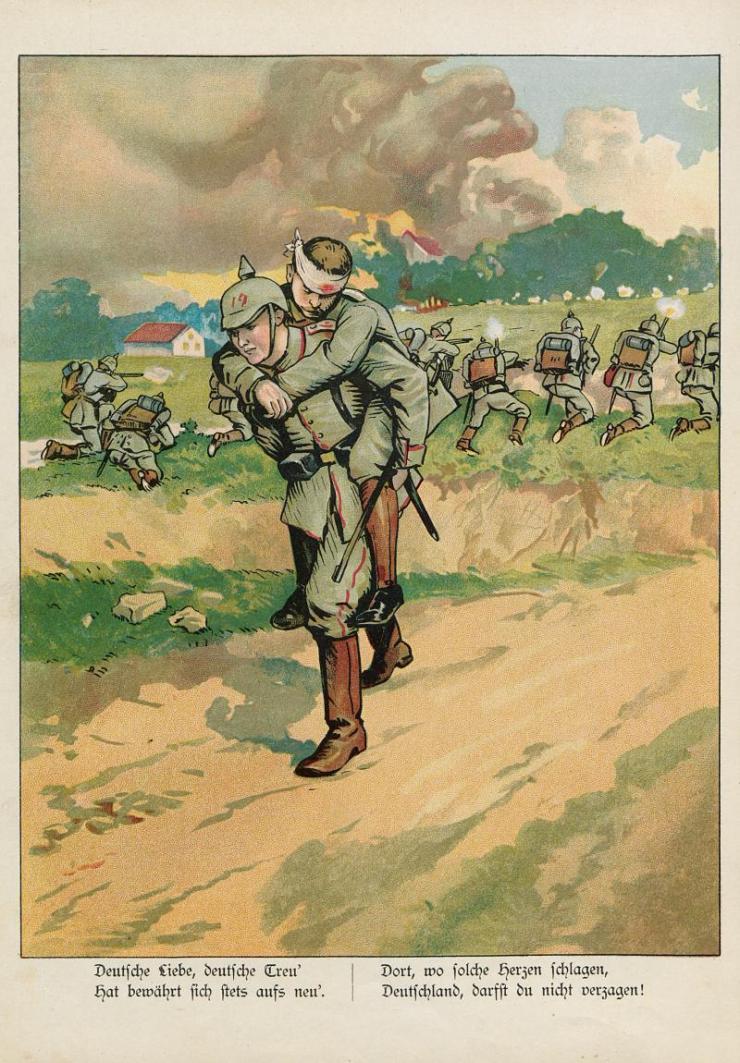 Unsere Feldgrauen. Deutsche und Österreicher. Soldatenbilder aus dem großen Krieg (18)