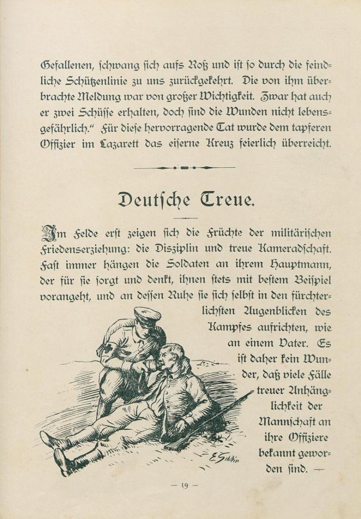 Unsere Feldgrauen. Deutsche und Österreicher. Soldatenbilder aus dem großen Krieg (19)