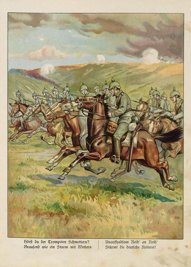 Unsere Feldgrauen. Deutsche und Österreicher. Soldatenbilder aus dem großen Krieg (4)