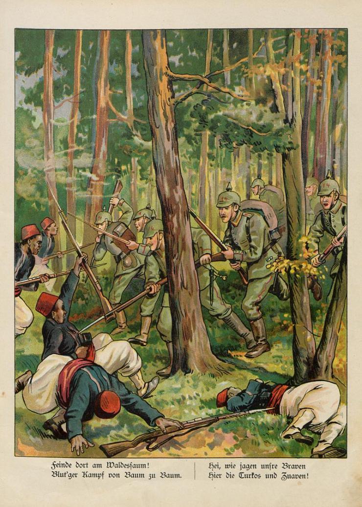 Unsere Feldgrauen. Deutsche und Österreicher. Soldatenbilder aus dem großen Krieg (8)