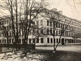FABRIKGEBÄUDE DES VERLAGS UM 1950