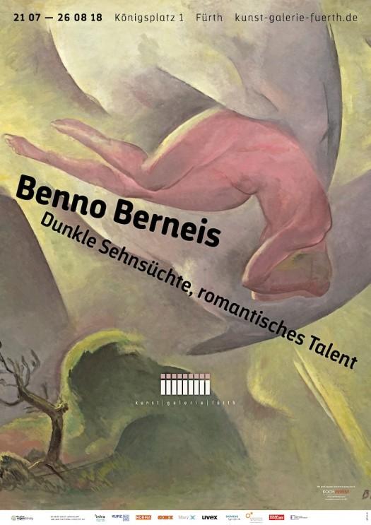 Benno Berneis Ausstellungsplakat